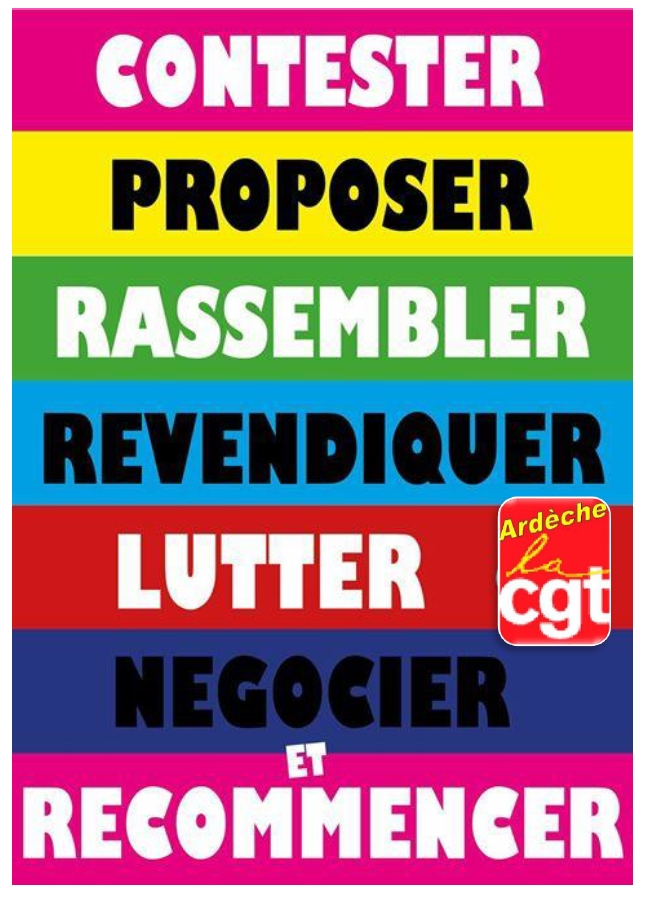 Contester & Recommencer - CGT 07